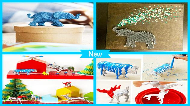 Cute DIY Glitter Animals screenshot 4