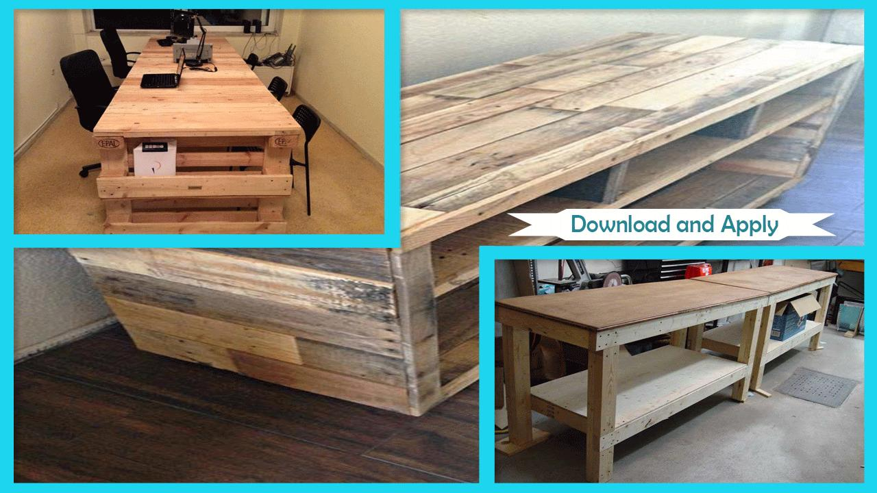 Brilliant Easy Diy Pallet Workbench Tutorial For Android Apk Download Caraccident5 Cool Chair Designs And Ideas Caraccident5Info