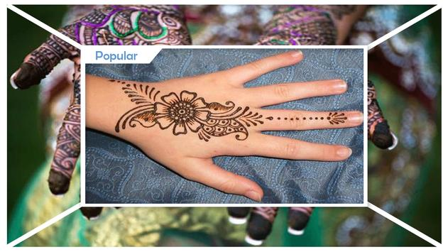 Simple Circle Mehndi Design apk screenshot