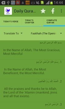 Daily Quranic Verses screenshot 3