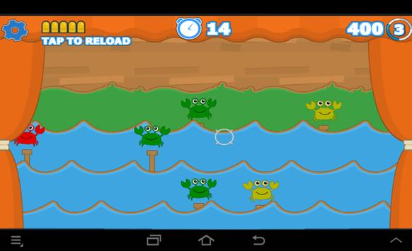 Shoot Crab Colour apk screenshot