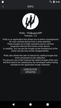 Wally - WallpaperAPP (Unreleased) apk screenshot