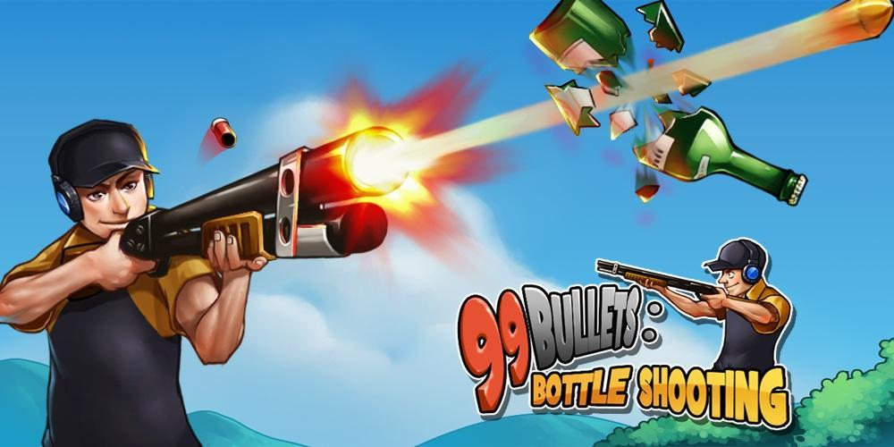 99 Bullets Bottle Shooting