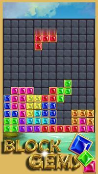 Gems Block Mania Puzzle poster