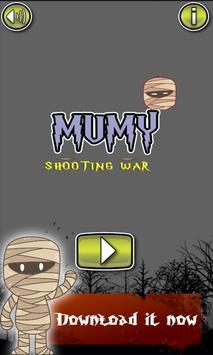 Mummy Shooting Zombie Bears poster