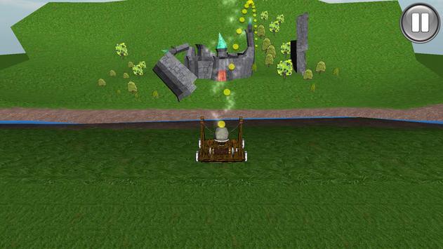 Castle Catapult Destroyer 3D poster