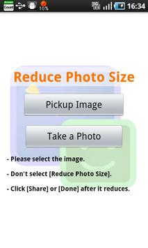 Reduce Photo Size poster