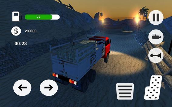 Truck Simulator - offroad 2017 poster