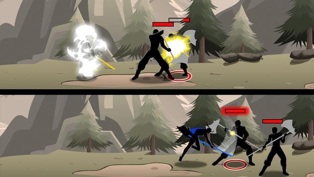 Shadow Stickman Ninja Game poster