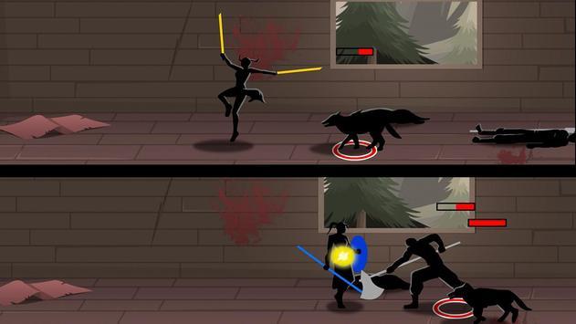 Shadow Stickman Ninja Game screenshot 1