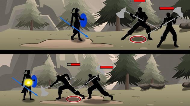 Shadow Stickman Ninja Game screenshot 2