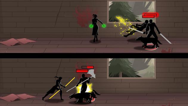 Shadow Stickman Ninja Game screenshot 3