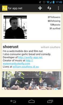 Aurify for app.net apk screenshot