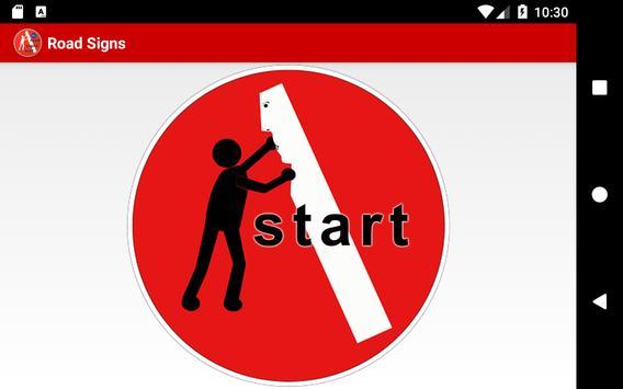Road Signs - Improve your skills screenshot 5