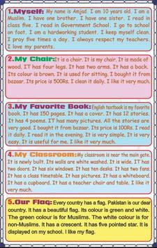 Grade 5 English screenshot 3