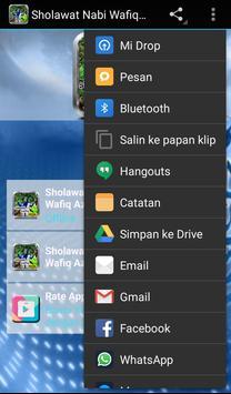 Sholawat Nabi WAFIQ AZIZAH apk screenshot