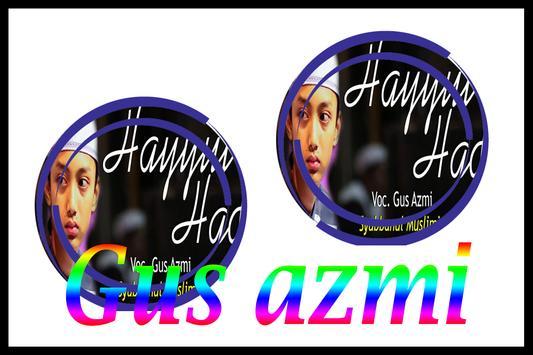 SHOLAWAT TERBAIK GUS AZMI MP3 apk screenshot