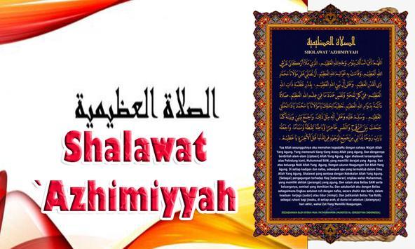 Shalawat Azhimiyyah apk screenshot