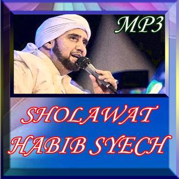 Sholawat Habib Syech poster