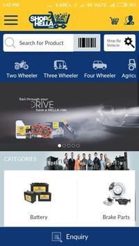 Online Shop4Hella screenshot 1