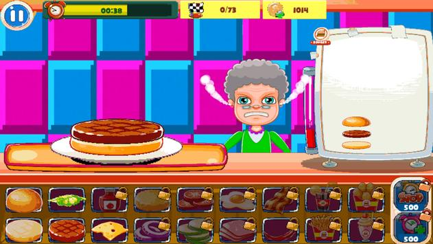 Burger Chef : New Burger Shop Fast Food Chef Free screenshot 1