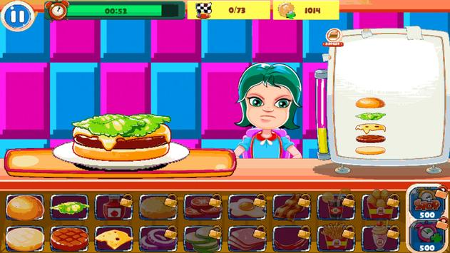 Burger Chef : New Burger Shop Fast Food Chef Free screenshot 2