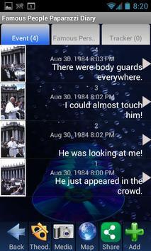 Famous People Paparazzi Diary screenshot 1