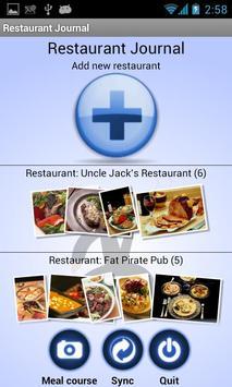 Restaurant Journal poster