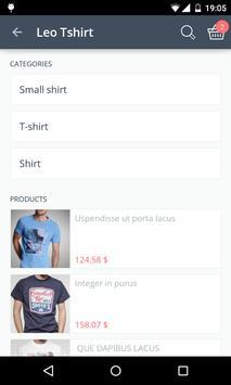 Shopacitor screenshot 2