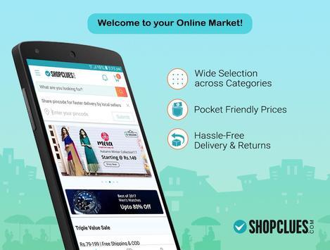 ShopClues: Online Shopping App poster