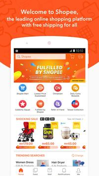 Shopee MY: FreeShipping for All poster