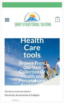Shop Everything Tacoma poster