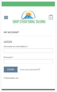 Shop Everything Tacoma screenshot 2