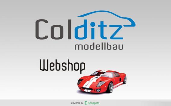 Colditz-Modellbau poster