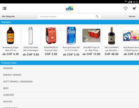Drink-Shop.ch apk screenshot