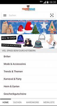 trendmaus.de screenshot 1