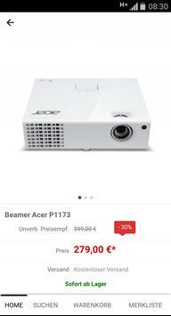 Beamer-Discount.de apk screenshot