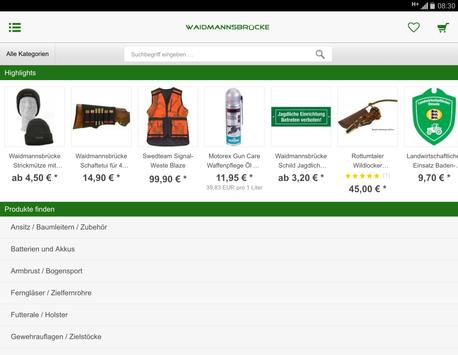 Waidmannsbrücke apk screenshot