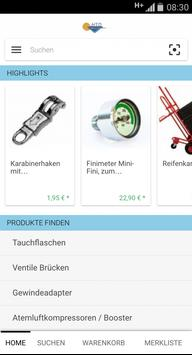 Tek-Diver-Shop apk screenshot