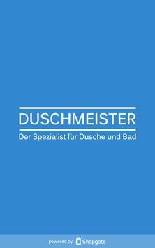 Duschmeister.de poster