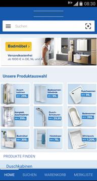 Duschmeister.de screenshot 1