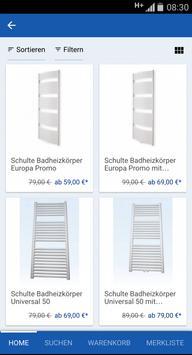 Duschmeister.de screenshot 2
