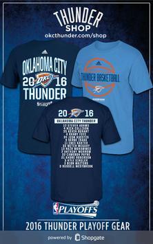 NBA Thunder Shop poster