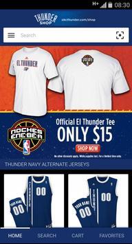 NBA Thunder Shop apk screenshot