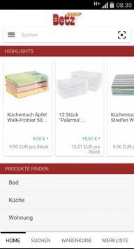Betzshop.de apk screenshot