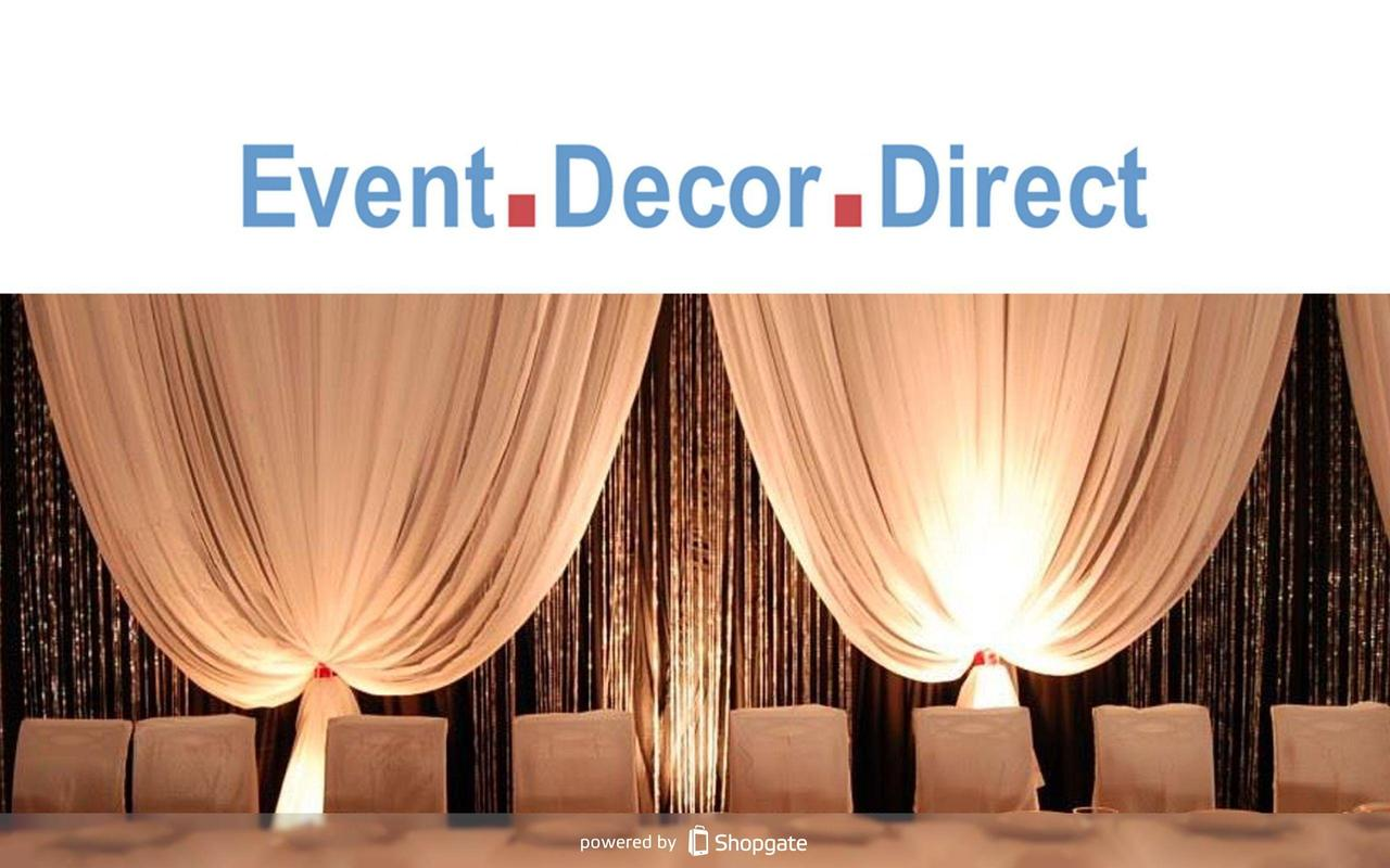 Event decor direct apk download free shopping app for for Decor direct