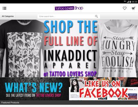 tattooloversshop.com screenshot 5
