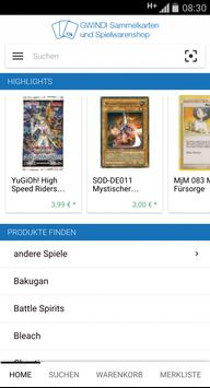 GWINDI TCG YuGiOh Karten apk screenshot