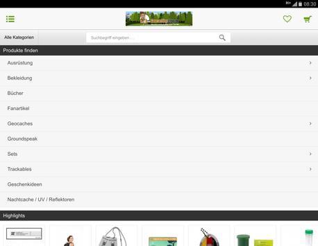 Geocachingshop.de screenshot 5