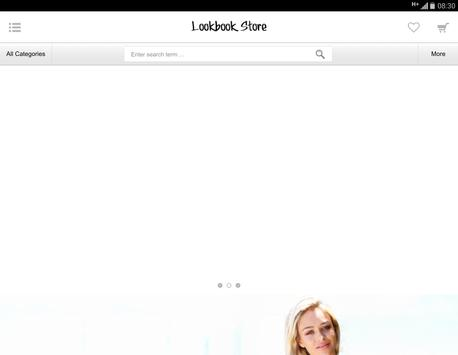 Lookbook Store apk screenshot